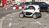 RENAULT Twizy turning