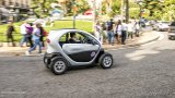 RENAULT Twizy on crowded street