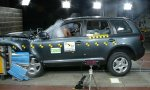 Old VW Touareg Euro NCAP test