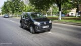 VOLKSWAGEN UP! driving