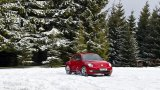 VW Beetle snow