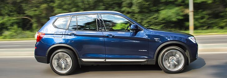 BMW X Models Autoevolution - Blue bmw x3