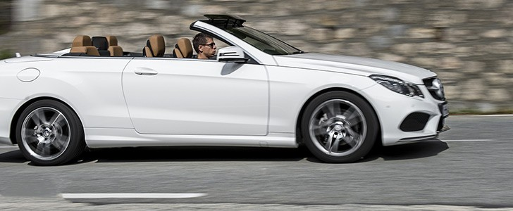 2014 MERCEDES-BENZ E-Class Cabriolet - Trang - 3