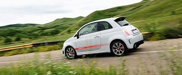 Abarth 500 - Open road