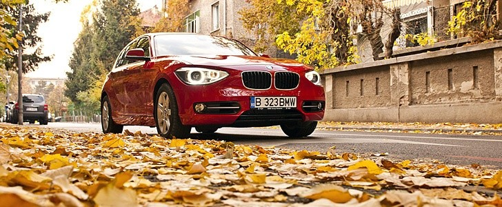 BMW 1-Series - In the city