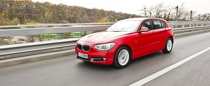 BMW 1-Series - Open road
