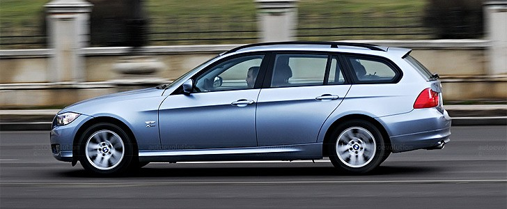 BMW 320d xDrive Touring - Tech facts