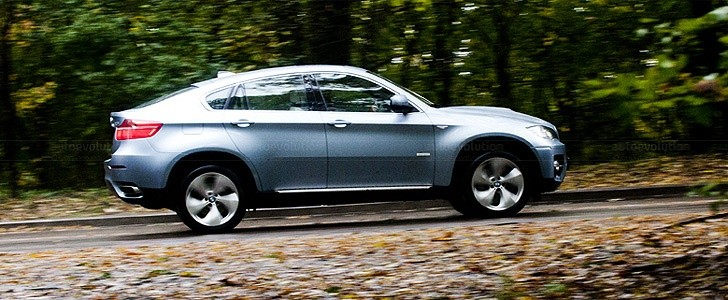 BMW X6 ActiveHybrid  - Safety