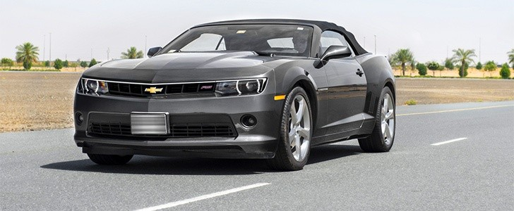 2014 chevrolet camaro rs convertible review autoevolution. Black Bedroom Furniture Sets. Home Design Ideas