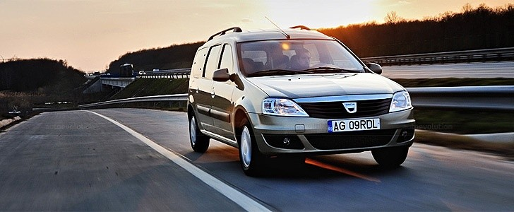 DACIA Logan MCV  - In the city