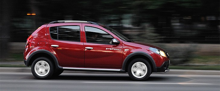 DACIA Sandero Stepway  - Open road