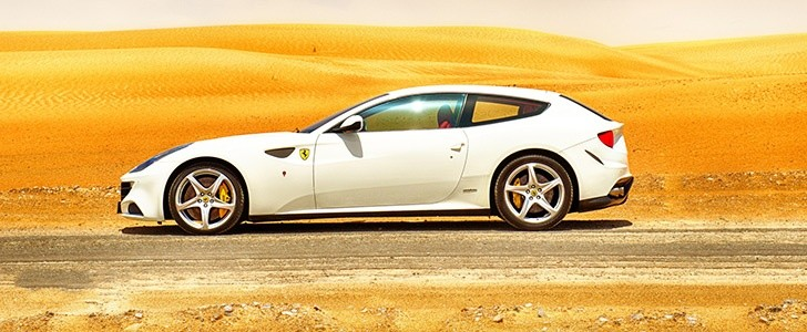 FERRARI FF on Jebel Hafeet Mountain Road - Page - 1