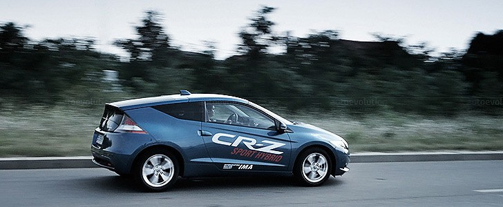 HONDA CR-Z - In the city