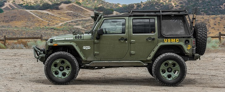 2016 Jeep Wrangler Rubicon By Rugged Ridge Page 1