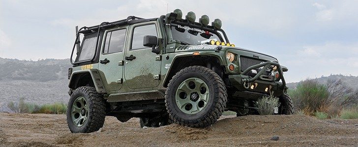 2014 Jeep Wrangler Rubicon By Rugged Ridge   Page   1