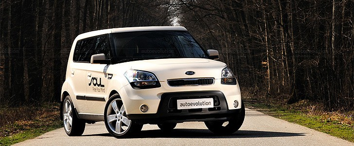 KIA Soul  - Open road