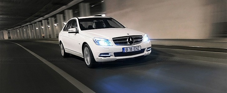 MERCEDES-BENZ C 200 CGI  - Open road