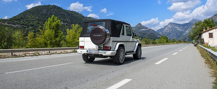 Mercedes benz g500 cabriolet review page 2 autoevolution for Mercedes benz g500 review