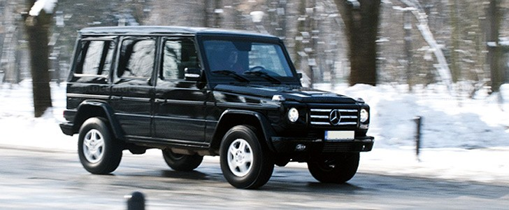 MERCEDES BENZ G-Klasse - Open road