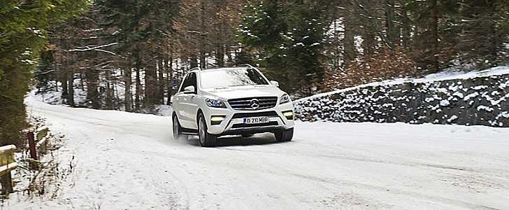MERCEDES-BENZ ML350 - Open road