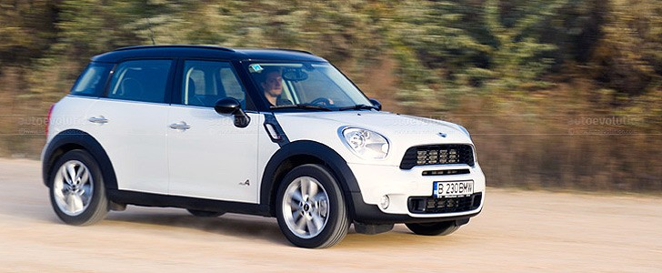 MINI Countryman  - In the city