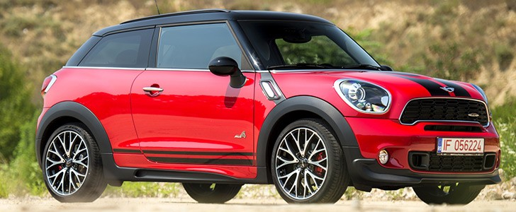 2015 Mini John Cooper Works All4 Paceman Review Autoevolution