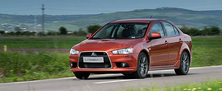 MITSUBISHI Lancer Ralliart  - In the city