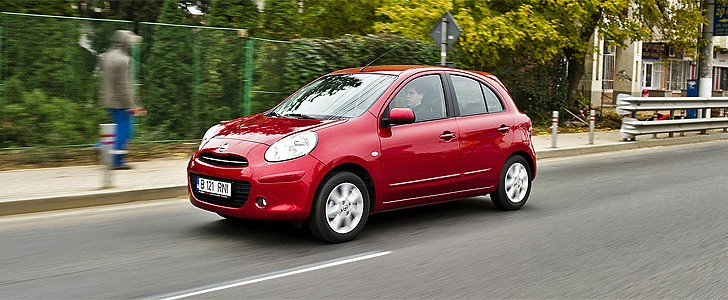 NISSAN Micra - Open road