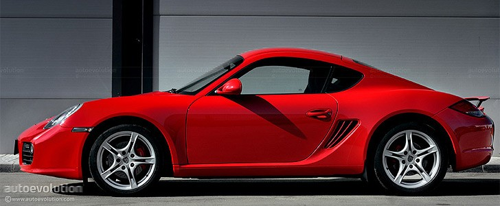 PORSCHE Cayman S  - Open road