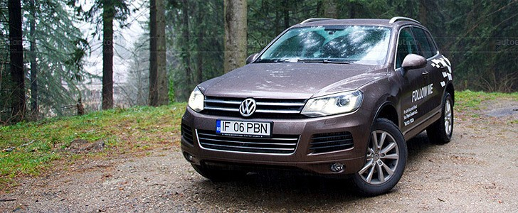 VOLKSWAGEN Touareg  - Sir May B. Bach's opinion